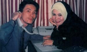 30/10/2002, Kenangan lama dgn Yusof(cina muslim) pengurus dn kwn lama..