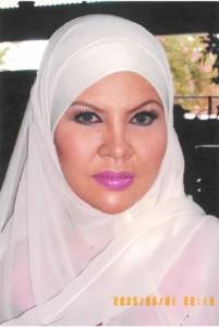 Gambar ni 1/6/2005 masa pengambaran TV3 / Makeup Artis makeupkan..(10 tahun lps)