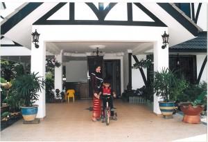 Rumah sy di rumah teres, tahun 2001..