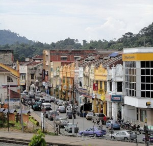 Pemandangan Bandar Kuala Lipis terkini..