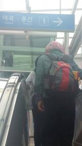 Sekali lg kami menaiki train menuju ke Sojun tempat barangan letrik dn gadjet terbesar..