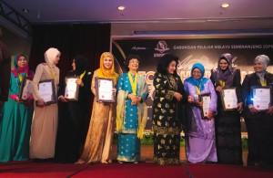 Penerimaan Anugerah Tokoh Srikandi Negara 2014..