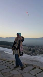 Travel sorang dgn mood berbeza. Baju kulit ni sy beli masa ke Turki bersama famili tahun 2012.. cantik kan pemandangannya dri atas.