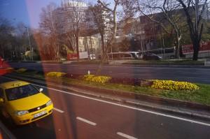 Dekat highway, dah sampai Istanbul..