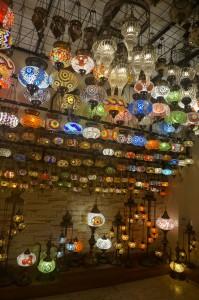Lampu unik buatan orang Turki..