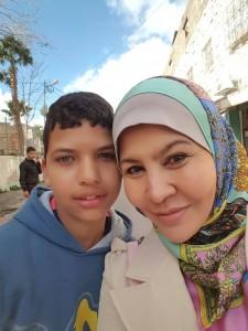 Anak2 Hebron yg cantik matanya. Mengekori sy sehingga ke bas dlm keadaan bahaya dn lapar..