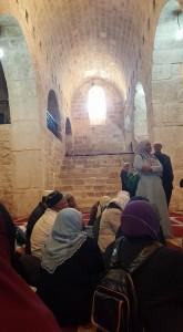 Ni lokasi ke Mihrab Maryam..