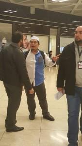 Di Airport Jordan dgn Ustaz Amin