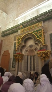 Ni mihrab Nabi Allah Zakaria..