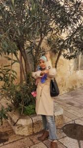 Pokok GHARQOD yg banyak ditanam keliling Palestin..