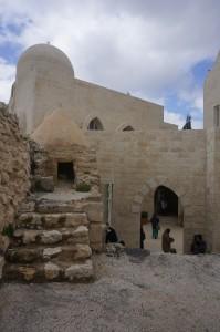 Pemandangan dri atas mesjid Nabi Shuib.